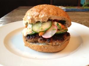 Bhan mi burger