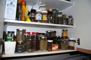 My spice cupboard