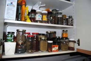 My spice cupboard