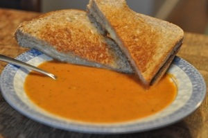 Grill Cheese and Tomato Soup